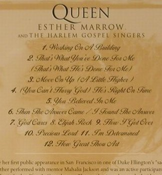 Queen Esther Marrow&Harlem GospelS.: God Cares, EMI(557455 2), EU, 2002 - CD - 98559 - 7,50 Euro