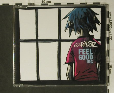 Gorillaz: Feelo Good Inc.*2+2, EMI/Parlophone(), EU, 2005 - CD5inch - 98764 - 3,00 Euro