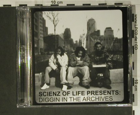Scienz Of Life: Presents: Diggin In The Archives, Ryko(PENCD4019), EU, 2004 - 2CD - 98824 - 10,00 Euro