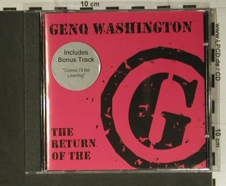 Washington,Geno: The Return Of The G, Kookooland(KKGCD009), , 2004 - CD - 98870 - 12,50 Euro