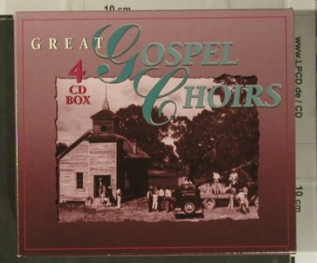 V.A.Great Gospel Choirs: Box Set, 56 Tr., Disky(), , 1994 - 4CD - 98980 - 12,50 Euro