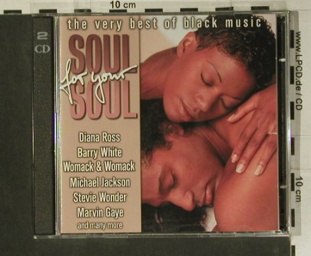 V.A.Soul For Your Soul: The Very Best of Black Music, Motown(66295), D, 1998 - 2CD - 99009 - 7,50 Euro