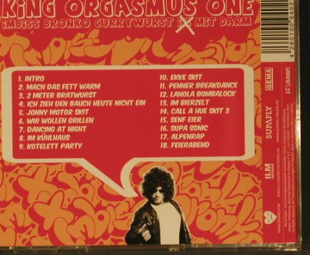 King Orgasmus One präs.: Currywurst mit Darm, ILM Rec.(0030), D, 2007 - CD - 99192 - 7,50 Euro