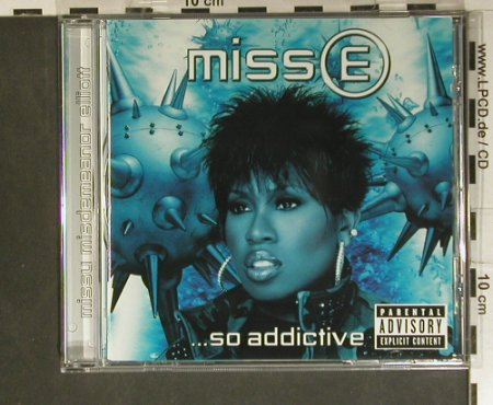 Elliott,Missy_Miss: ...So Addictive, Elektra(), D, 2001 - CD - 99374 - 10,00 Euro
