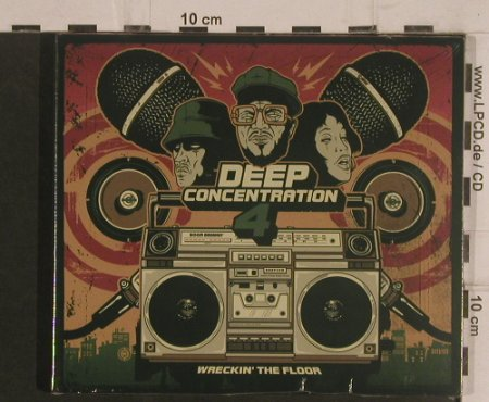V.A.Deep Concentration 4: Wreckin' The Floor, FS-New, Unlearn(OM-140), ,  - CD - 99531 - 10,00 Euro