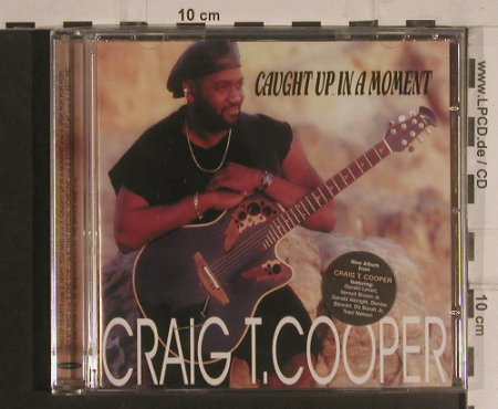 Cooper,Craig T.: Caught Up in a Moment, FS-New, Expansion Record(EXCDP 21), UK, 1999 - CD - 99555 - 10,00 Euro