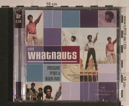 Whatnauts: Message from a Black Man, Castle(CMDDD 676), UK,FS-New,  - 2CD - 99565 - 10,00 Euro