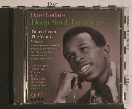 V.A.Dave Godin's Deep Soul Treasure: Vol.4, FS-New, Kent Soul(CDKEND 230), UK, 2004 - CD - 99578 - 10,00 Euro