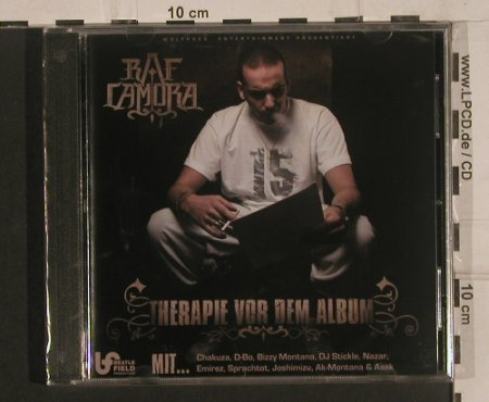 Raf Camora: Therapie Vor Dem Album, FS-New, Distributionz(), , 2008 - CD - 99668 - 10,00 Euro