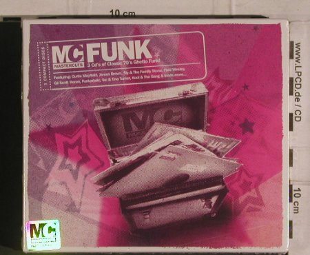 V.A.Mastercuts Funk: Classic 70's Ghetto Funk!, FS-New, Dynamic M.(MCUTcd02), UK, 2005 - 3CD - 99902 - 12,50 Euro