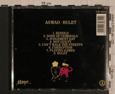 Aswad: Hulet'79, Mango(CID 9611), UK, 1979 - CD - 50053 - 9,00 Euro