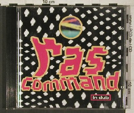 Ras Command: In Dub, vg+/m-, Red Arrow(084-55462), D, 1995 - CD - 50517 - 5,00 Euro