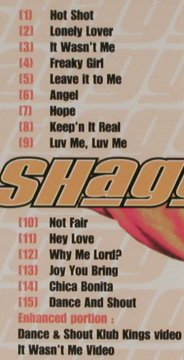 Shaggy: Hot Shot, Polydor(), D, 2001 - CD - 50596 - 5,00 Euro