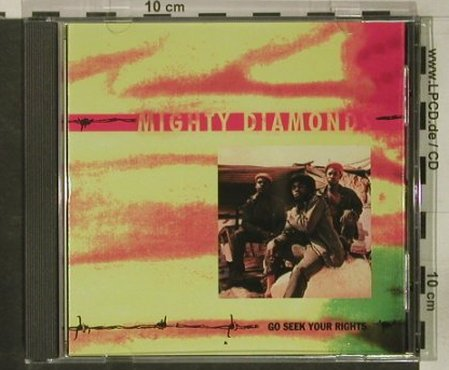 Mighty Diamonds: Go Seek Your Rights, Virgin(CAROL 1678-2), A, 1990 - CD - 50685 - 7,50 Euro