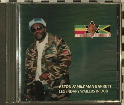 Aston Family Man Barrett: Legendary Wailers in Dub, Drummonds&Garrett(DRUM02), UK,  - CD - 51147 - 6,00 Euro