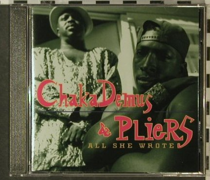 Demus,Chaka & Pliers: All She Wrote, Mango(), D, 93 - CD - 52118 - 7,50 Euro