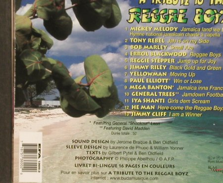 Reggae Boyz: A Tribute to the, Digi, Rym(), , 98 - CD - 53048 - 5,00 Euro