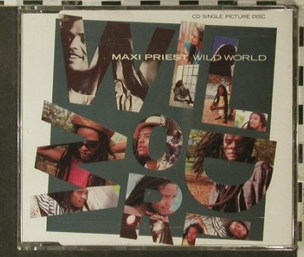 Priest,Maxi: Wild World*2+2, 10 Rec.(221), NL, 88 - CD5inch - 53174 - 2,50 Euro