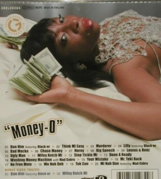 Macka Diamond: Money-O, +2*video, Greensleeves Rec.(), , 2006 - CD - 53193 - 7,50 Euro