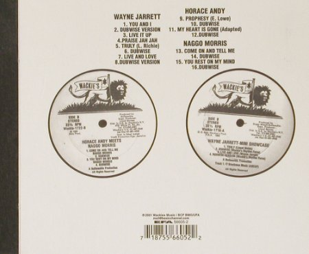 Horace Andy meets Naggo Morris: & Wayne Jarrett-MiniShowcase, Wackies(1716/1722), Digi,  - CD - 53248 - 7,50 Euro