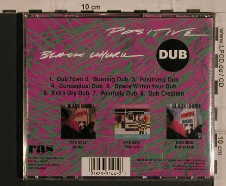 Black Uhuru: Positive Dub, DreadBeat(), A, 1994 - CD - 53738 - 7,50 Euro