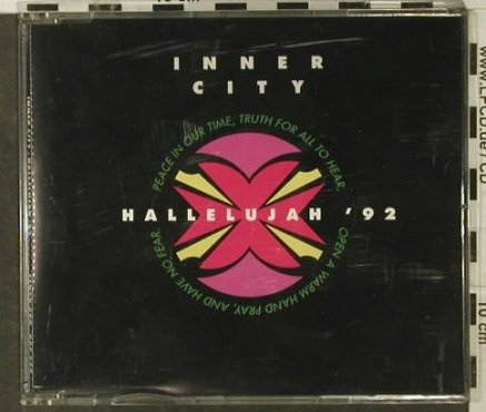 Inner Circle: Hallelujah'92 *6 (Leftfield), Ten Records(398.665 249), UK, 1992 - CD5inch - 54193 - 2,50 Euro