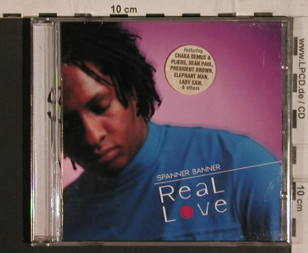 Spanner Banner: Real Love, Heartbeat(), NL, 2001 - CD - 54894 - 6,00 Euro