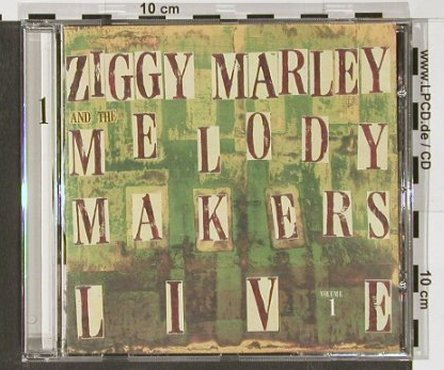 Marley,Ziggy & Melody Makers: Live Vol.1, Elektra(), D, 00 - CD - 56052 - 5,00 Euro