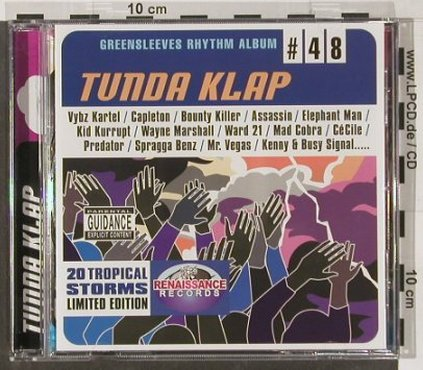 V.A.Tunda Klap: Greensleeves Rhythm Album#48, Greensleeves Rec.(GRELCD748), UK, 2004 - CD - 56289 - 7,50 Euro