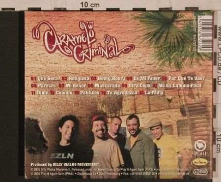 Caramelo Criminal: Same, Digi, Silly Walks Movement(556.4727.020), EU, 2004 - CD - 56309 - 7,50 Euro