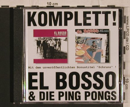 El Bosso & die Ping Pongs: Komplett!, Pork Pie(0641-2), D, 1996 - CD - 56823 - 6,00 Euro
