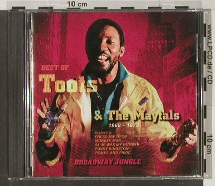 Toots & The Maytals: Broadway Jungle, 1968-1973, 16 Tr., Trojan(), UK, 2001 - CD - 57094 - 9,00 Euro