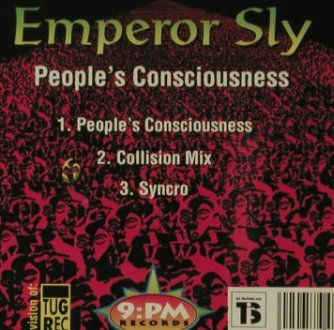 Emperor Sly: People's Consciousness, 3Tr., Tug(), , 95 - CD5inch - 57281 - 3,00 Euro