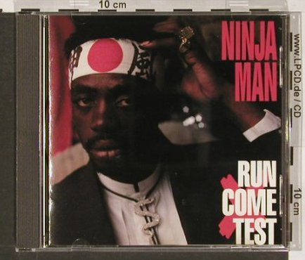 Ninjaman: Run Come Test, RAS(), US, 93 - CD - 57406 - 7,50 Euro