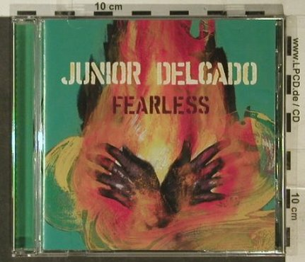 Junior Delgado: Fearless, Big Cat(ABB1002862), EU, 1998 - CD - 57767 - 5,00 Euro
