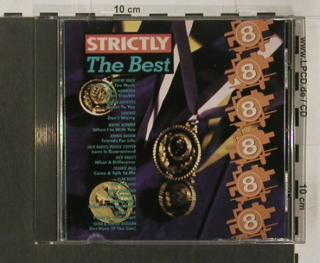 V.A.Strictly the Best: Volume  8, VP Music(), , 1992 - CD - 58871 - 6,00 Euro