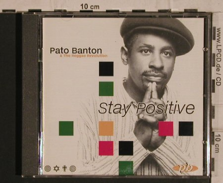 Banton,Pato & the Reggae Revolution: Stay Positive, IRS(), UK, 96 - CD - 59736 - 6,00 Euro