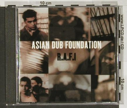 Asian Dub Foundation: R.A.F.I., 13 Tr., Labels(), NL,  - CD - 60380 - 9,00 Euro