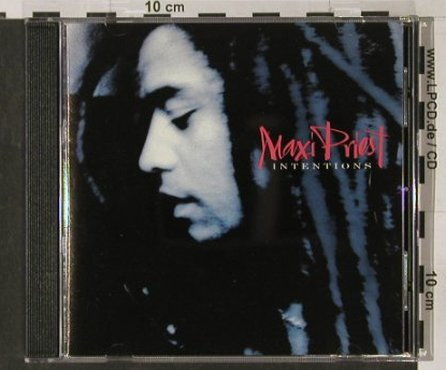 Priest,Maxi: Intentions, 10 Rec.(DIXCD 32), UK, 86 - CD - 60550 - 6,00 Euro