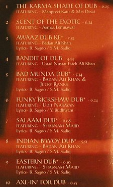 Bally Sagoo: Dub of Asia, Echo Beach(), D, 01 - CD - 60731 - 10,00 Euro
