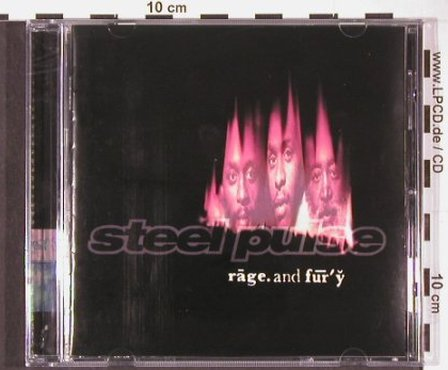 Steel Pulse: Rage And Fury, Wise Man(04), UK, 1997 - CD - 60851 - 7,50 Euro