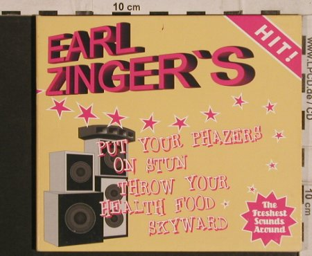 Zinger,Earl: Put Your Phazes On Stun....,Digi, !K7(), F,  - CD - 61519 - 7,50 Euro