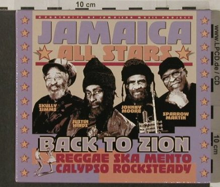Jamaica All Stars: Back To Zion, Passage(), F, 2003 - CD - 61572 - 7,50 Euro