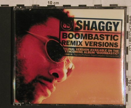 Shaggy: Boombastic,6 Tr., Virgin(), NL, 95 - CD - 61770 - 2,50 Euro