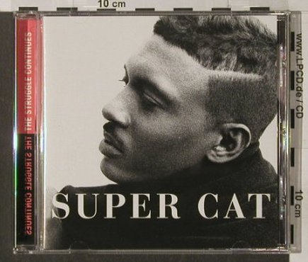 Super Cat: The Struggle Continues, Columbia(), A, 95 - CD - 65286 - 7,50 Euro