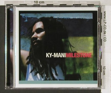 Ky-Mani: Milesstone,13Tr+3*video, Big Cat(), A, 03 - CD - 66086 - 7,50 Euro