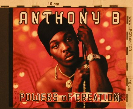 Anthony B: Powers of Creation, Nocturne(), EU, 2004 - CD - 66285 - 7,50 Euro