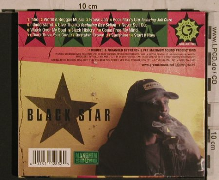 Anthony B: Black Star, Greensleeves Rec(), EU, 2005 - CD - 66300 - 9,00 Euro