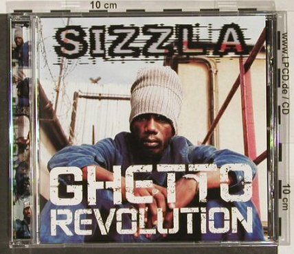 Sizzla: Ghetto Revolution, Greensleeves Rec.(GRELcd269), UK, 02 - CD - 67169 - 7,50 Euro
