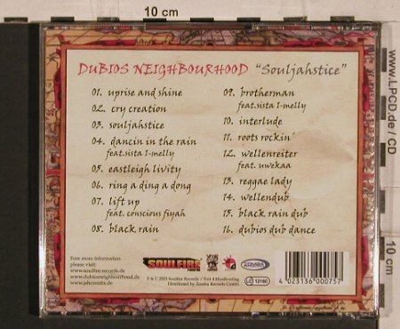 Dubios Neighbourhood: Souljahstice, Soulfire(), D, 03 - CD - 67797 - 9,00 Euro